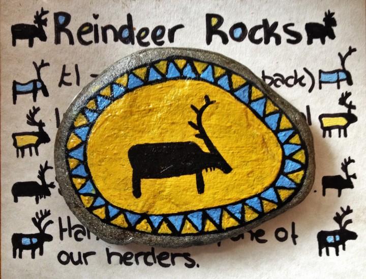 Reindeer rocks